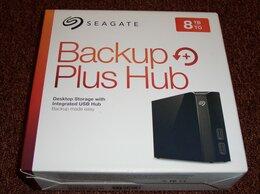Внешние жесткие диски и SSD - 8 ТВ Seagate Bakup Plus, 0