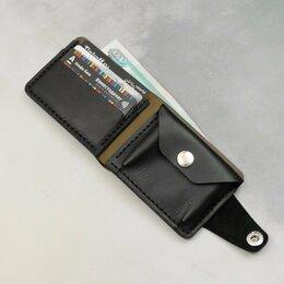 Кошельки - Компактное портмоне ручной работы Бумажник из кожи, 0