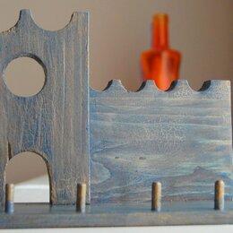 Настенные ключницы и шкафчики - Ключница, полочка для ключей, 0