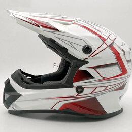 Мотоэкипировка - Шлем кроссовый Ataki SC-15 Rift детский, 0