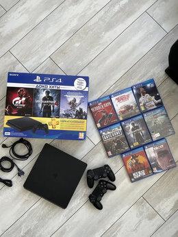 Игровые приставки - Sony Playstation PS4 Slim 1Tb, 0
