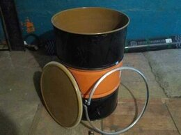 Аксессуары и комплектующие - Крышка с хомутом для бочки железной 200 л, 0