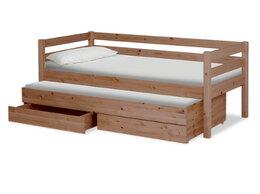 Кровати - Кровать массив выкатная с ящиками, 0