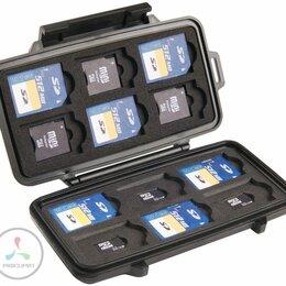 Устройства для чтения карт памяти - Кейс 0915 для карт памяти, черный, 0