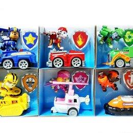 Игровые наборы и фигурки - Щенки спасатели на машине... , 0