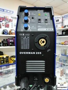 Сварочные аппараты - Сварочный полуавтомат Аврора Aurora Overman 205, 0