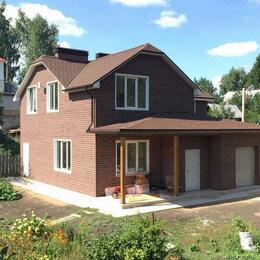Фасадные панели - Фасадная плитка HAUBERK, Красный кирпич, 0