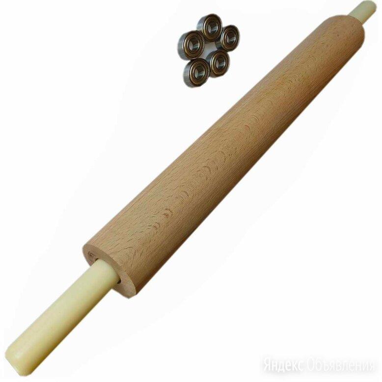 Скалка деревянная длинная 40-7,7см по цене 3300₽ - Скалки, фото 0