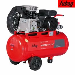 Воздушные компрессоры - Компрессор масляный Fubag B3600B/100 CM3 61431372, 0