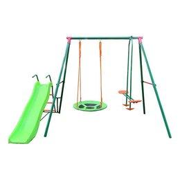 Игровые и спортивные комплексы и горки - Детский уличный комплекс с горкой DFC RGN-03, 0
