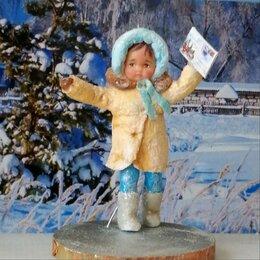 Новогодние фигурки и сувениры - авторская ватная игрушка на ёлку ,ручной работы, 0