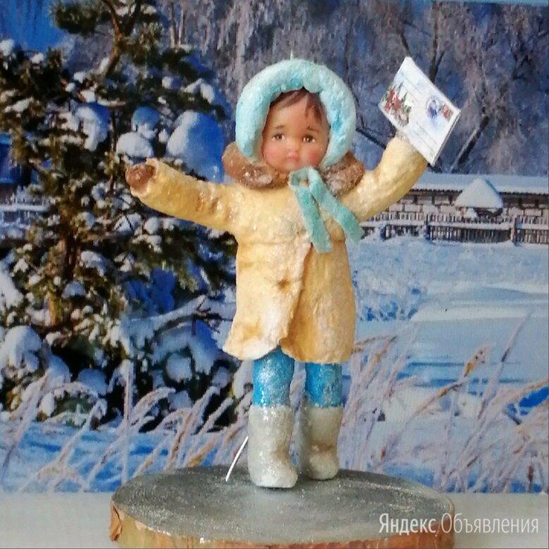 авторская ватная игрушка на ёлку ,ручной работы по цене 1400₽ - Новогодние фигурки и сувениры, фото 0