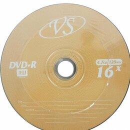 Диски - Диск DVD+R 4,7GB 16x, 0