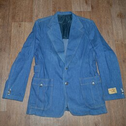Пиджаки - Пиджак джинсовый Lee, Made in USA, из 70-х, 0