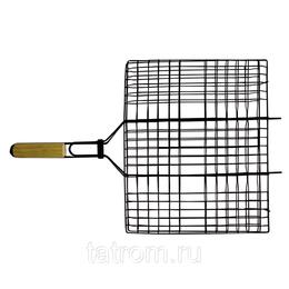 Решетки - Totem решетка-гриль антиприг. покр. плоская 40*30см, 0