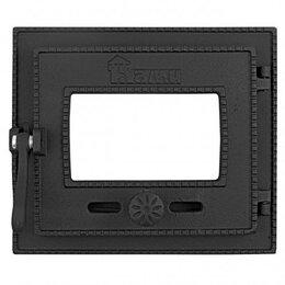 Наборы и аксессуары для каминов и печей - Топочная дверка герметичная ДТГ-3БС 250*210, 0
