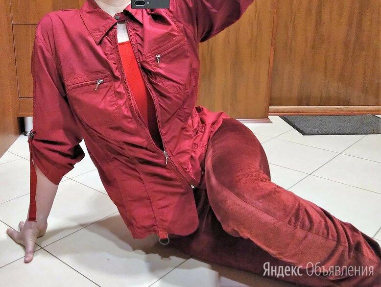 🔴 Max Mara Италия плотная рубашка / пиджак сафари по цене 1200₽ - Пиджаки, фото 0