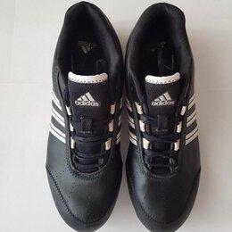 Обувь для спорта - Кроссовки женские Adidas натуральная кожа , 0