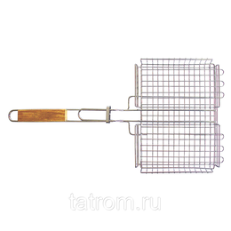 Решетки - Totem решетка-гриль хром глуб. 30*24*4см, 0