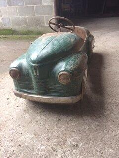 Машинки и техника - Педальная машинка Победа(Урал-Челябинск) 1961г, 0