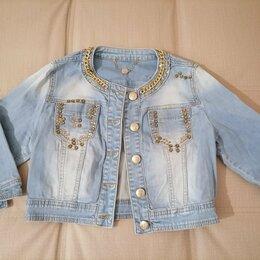 Куртки - Джинсовка короткая, 0