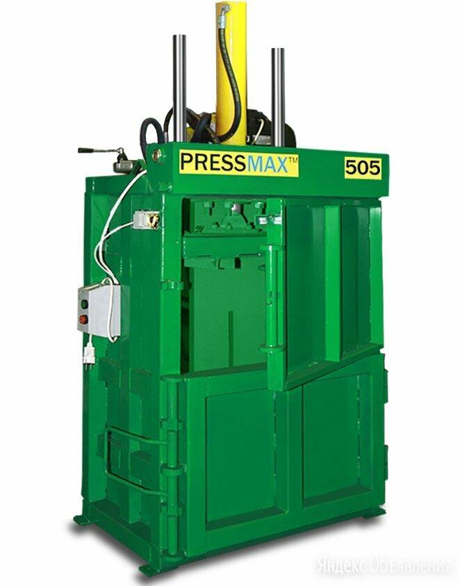 Пресс для макулатуры, картона, полиэтилена вертикальный PRESSMAX™ 505 по цене не указана - Пресс-станки, фото 0