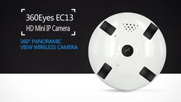 Камеры видеонаблюдения - iP-камера видеонаблюдения/Видеоняня 360Eyes EC13, 0