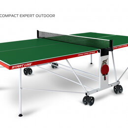 Столы - Теннисный стол Start Line Compact Expert Outdoor green 6044-31, 0