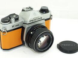 Пленочные фотоаппараты - Фотоаппарат Pentax K1000 с объективом SMC…, 0