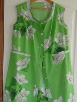 Домашняя одежда - халат ХБ, длина 0.96, 0