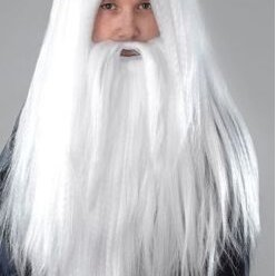 Карнавальные и театральные костюмы - Парик Волшебника с бородой, 0