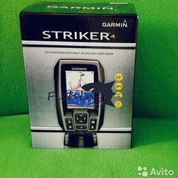 Эхолоты и комплектующие - Эхолот Garmin Striker 4 Оригинал, 0