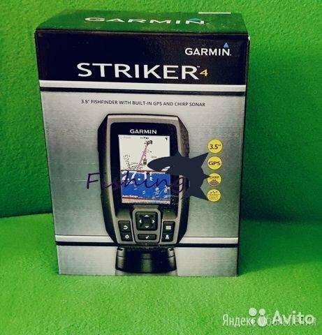 Эхолот Garmin Striker 4 Оригинал по цене 9900₽ - Эхолоты и комплектующие, фото 0