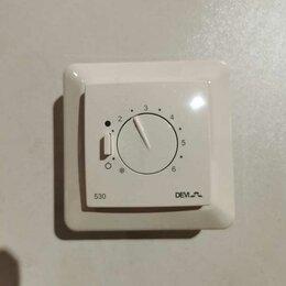 Электрический теплый пол и терморегуляторы - Терморегулятор DEVI D530 с датчиком т.п.3450ватт, 0