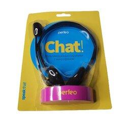 Наушники и Bluetooth-гарнитуры - Наушники с микрофоном  (CHAT), 0