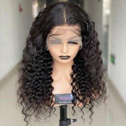 Аксессуары для волос - Парик из натуральных волос на сетке, 0