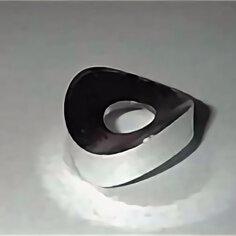 Комплектующие - Шайба профильная d20 для крестообразного соединения мебель.труб d25, 0