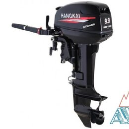 Моторные лодки и катера - Лодочный мотор HANGKAI M9.9 HP со склада, 0