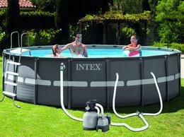 Бассейны - Сборный каркасный бассейн Intex Ultra Frame Pool…, 0
