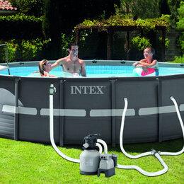 Бассейны - Сборный каркасный бассейн Intex Ultra Frame Pool ( арт. 26330), 0