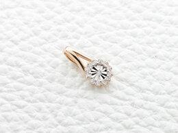 Кулоны и подвески - Подвеска с 13 бриллиантами из комбинированного…, 0