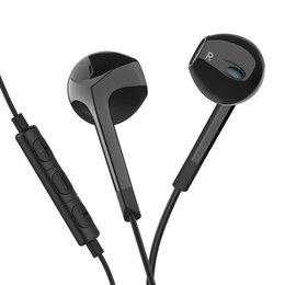 Наушники и Bluetooth-гарнитуры - Наушники проводные с микрофоном Langsdom E6U,…, 0