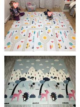 Развивающие коврики - Новый складной коврик 180*160 и 200*180см…, 0
