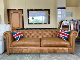 Диваны и кушетки - диван кожаный Westminster , 0