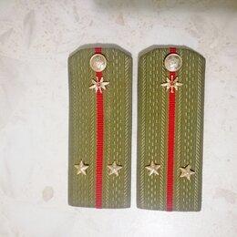 Военные вещи - Погоны СССР - лейтенант, 0