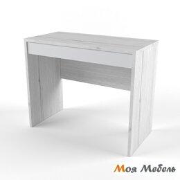 Компьютерные и письменные столы - Стол малый св.серый «Нью Тон», 0