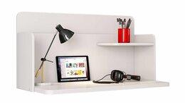 Компьютерные и письменные столы - Стол навесной Polini kids Mirum, белый, 0