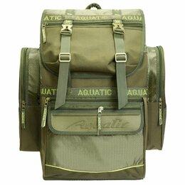 Сумки и ящики - Рюкзак рыболовный  Aqutic  60л, 0