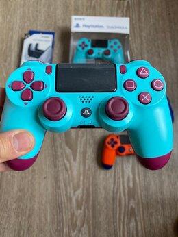 Рули, джойстики, геймпады - Джойстик геймпад для PlayStation 4 berry blue…, 0