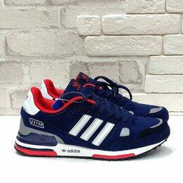 Кроссовки и кеды - Кроссовки Adidas ZX-750 синие. Лето., 0